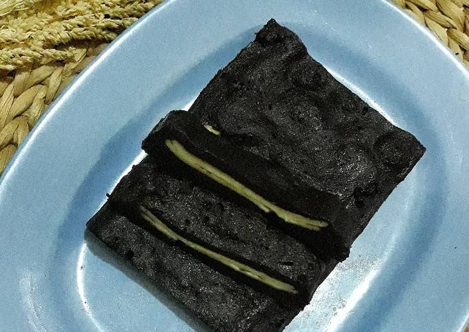 Brownies Kukus Lapis Keju (DEBM)