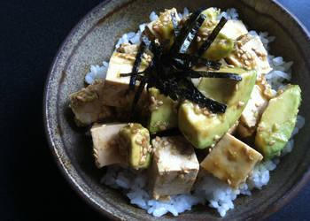Easiest Way to Recipe Appetizing Avocado  Tofu Wasabiae