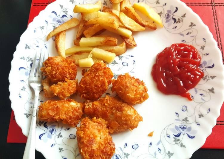 Crispy Chicken Tikka Popcorn 😍