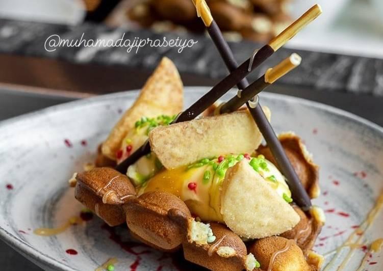 Resep Waffle Hotel Bintang 5 – #CreativeYouthEM Bikin Laper