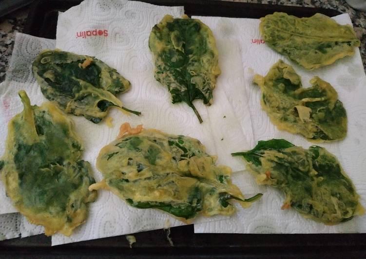 Bayam Goreng Tepung/Kripik Bayam/ Fried Spinach