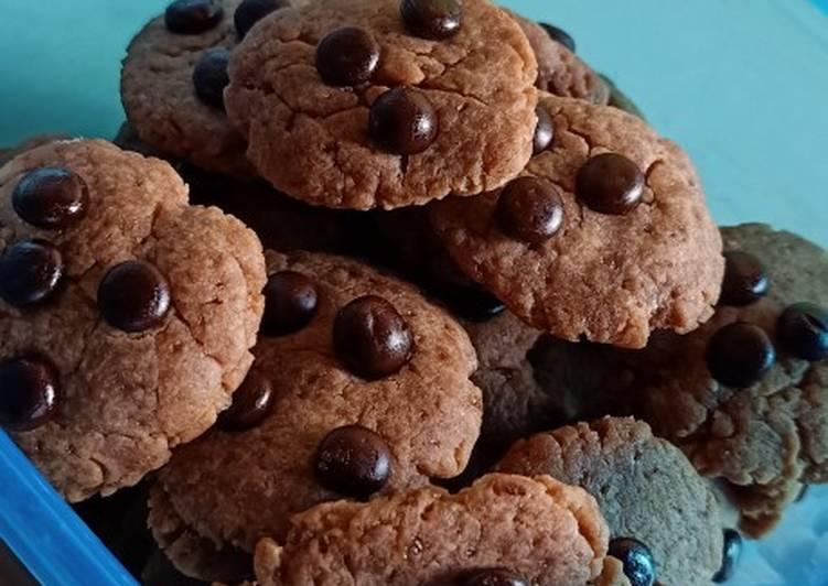 Milo butter cookies