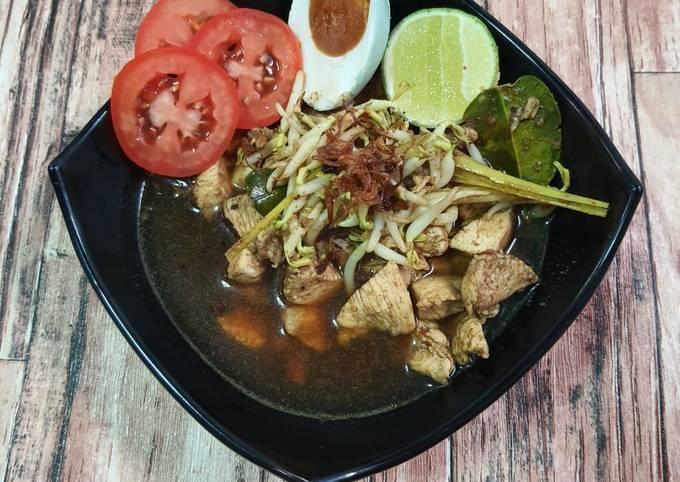 Rawon Ayam - menu diet