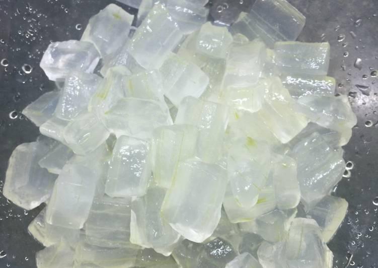 Cách Làm Món Thạch nha đam (nguyên chất 100%) của Trang_trit - Cookpad
