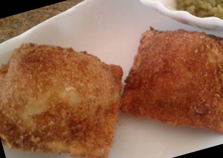 Recipe: Appetizing Whosayna's Fried Ravioli