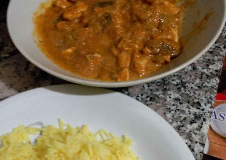 How to Prepare Favorite Chicken Curry with Basmati Rice