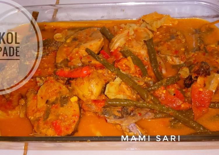 Tongkol Asem Pade mix Sayuran
