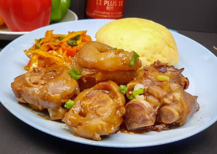 Recipe of Speedy Pork Trotters