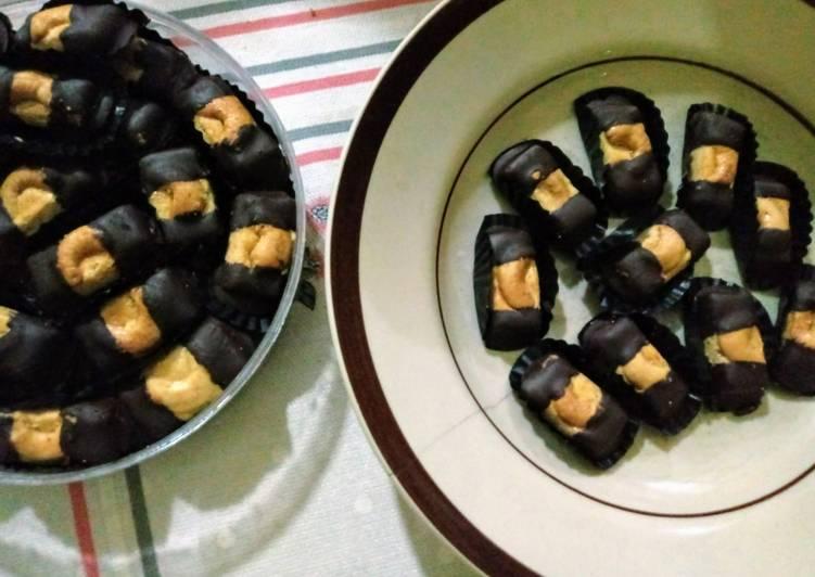 27. Choco Finger Cookies Mede #BikinRamadanBerkesan