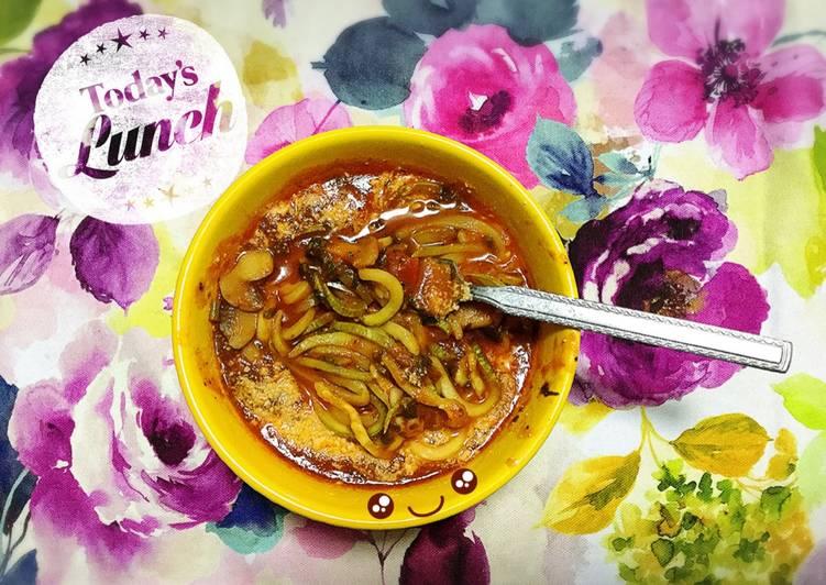 Spaghetti de calabaza light なな紫 (⁎⁍̴̆Ɛ⁍̴̆⁎)。