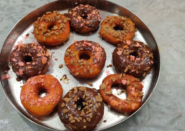 Step-by-Step Guide to Make Favorite Eggless Donuts