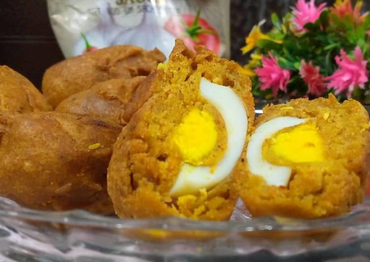 5 Minute Recipe of Speedy Anda pakora(Anda bhajia)