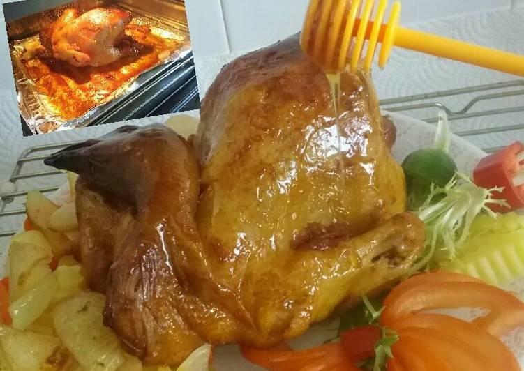 Ayam Panggang Oven - cookandrecipe.com