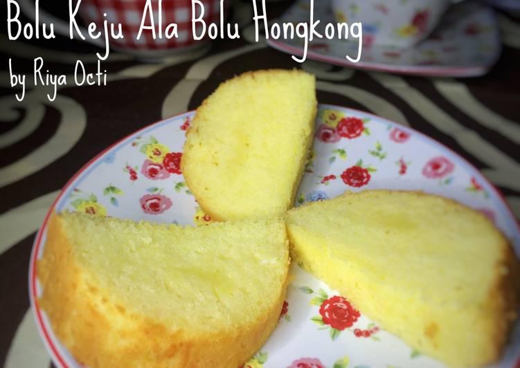 Bolu Keju ala bolu hongkong