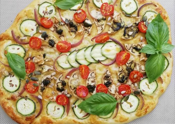 Pizza healthy sans repos (alternative vegan)