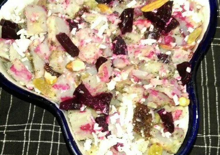 Warm Roasted Sweet potato Salad