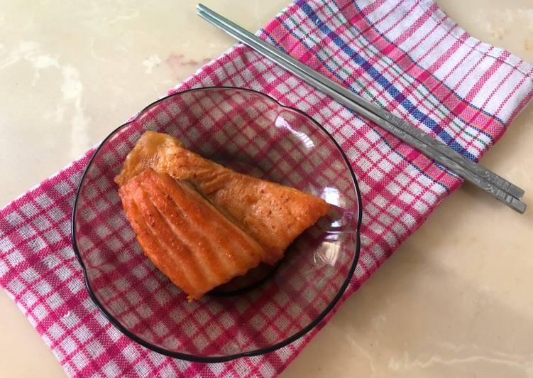 Salmon Goreng Mentega