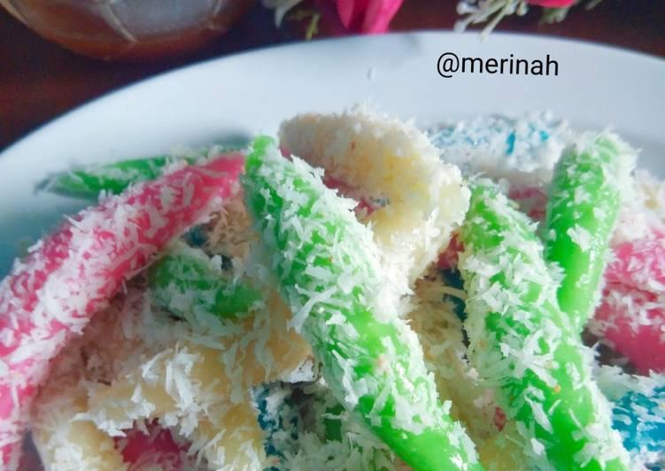 Resep Cenil Oleh Merinah Cookpad