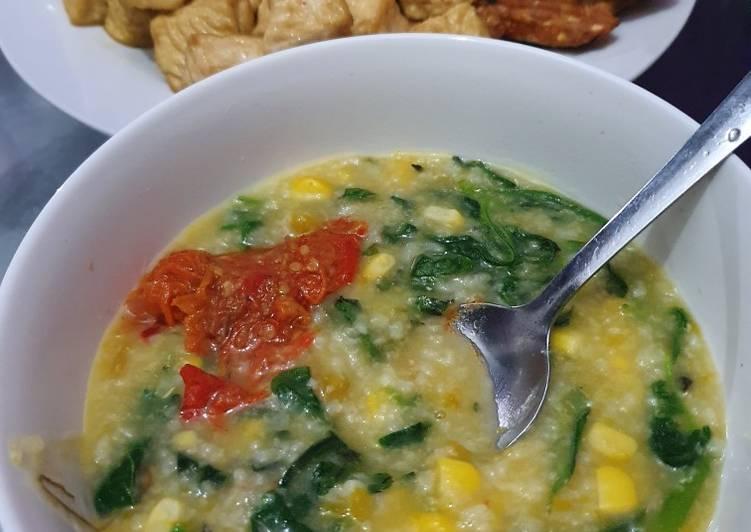 Bubur Manado Pake Nasi Resep Asli Sulawesi