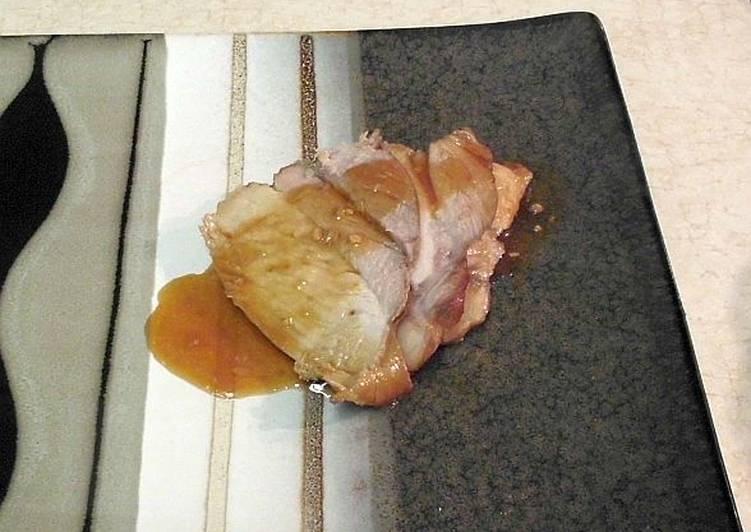 Ginger Pork Tenderloin