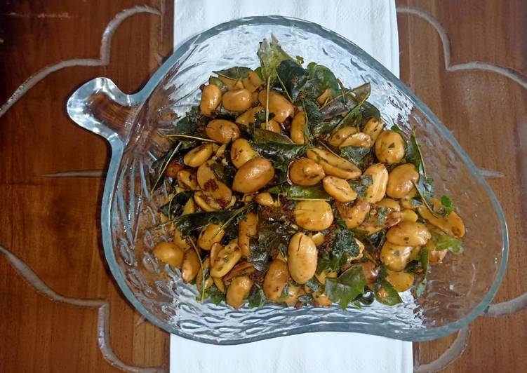 Kacang bawang daun jeruk