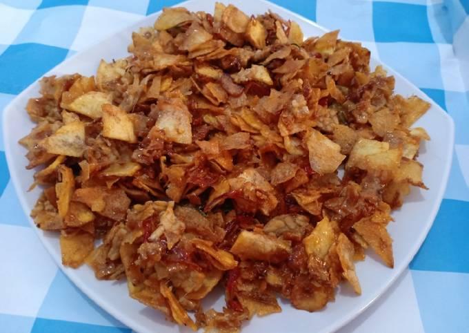 kering tempe kentang - resepenakbgt.com