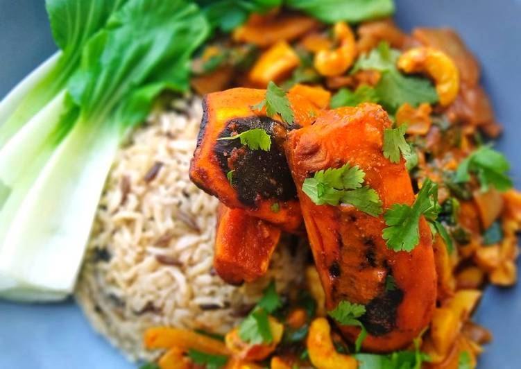 Recipe of Perfect Charred Sweet Potato Curry