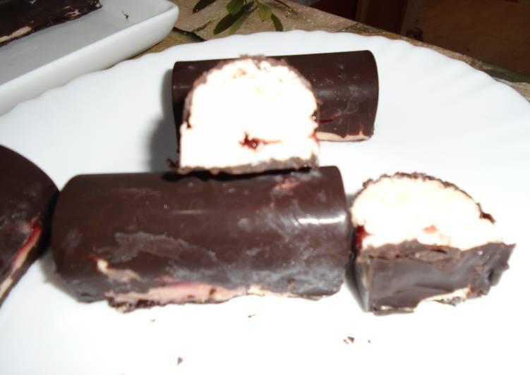 Dessert glacé façon cheesecake