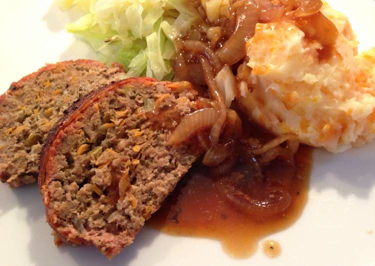Steps to Prepare Quick Bacon-wrapped Meatloaf