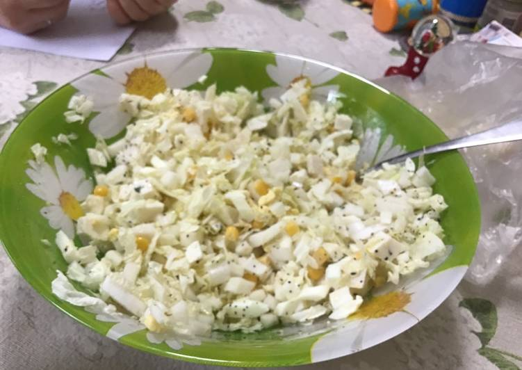 How to Make Any-night-of-the-week Salad with corn