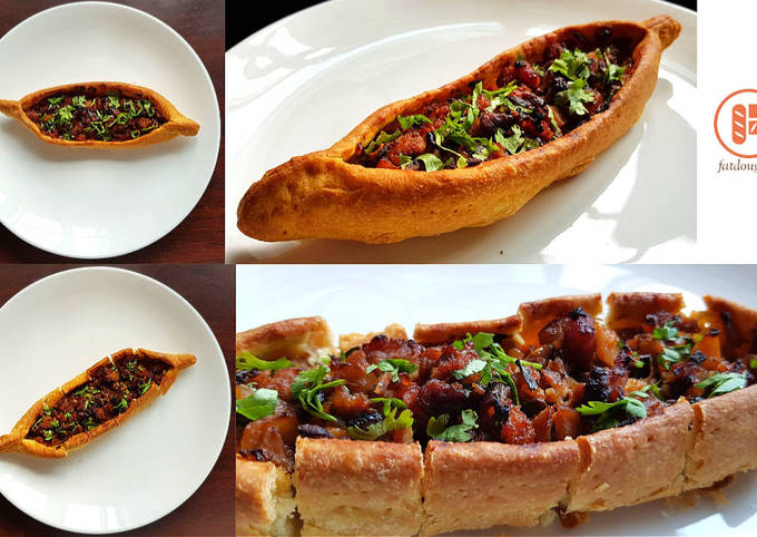 Pide with a Chinese Twist