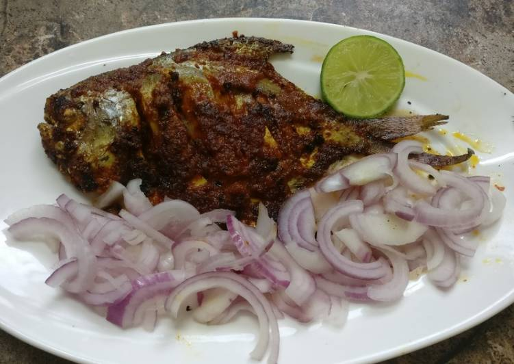 Easiest Way to Make Speedy Grilled Fish