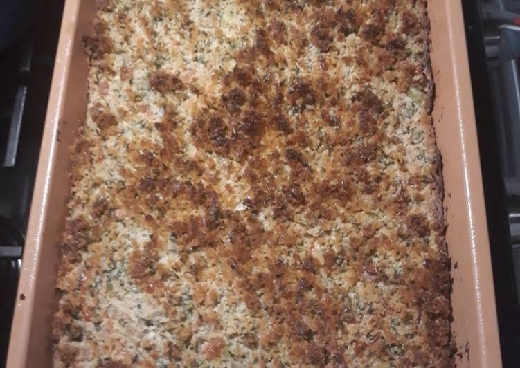 Recipe: Yummy Matzo Broccoli Casserole