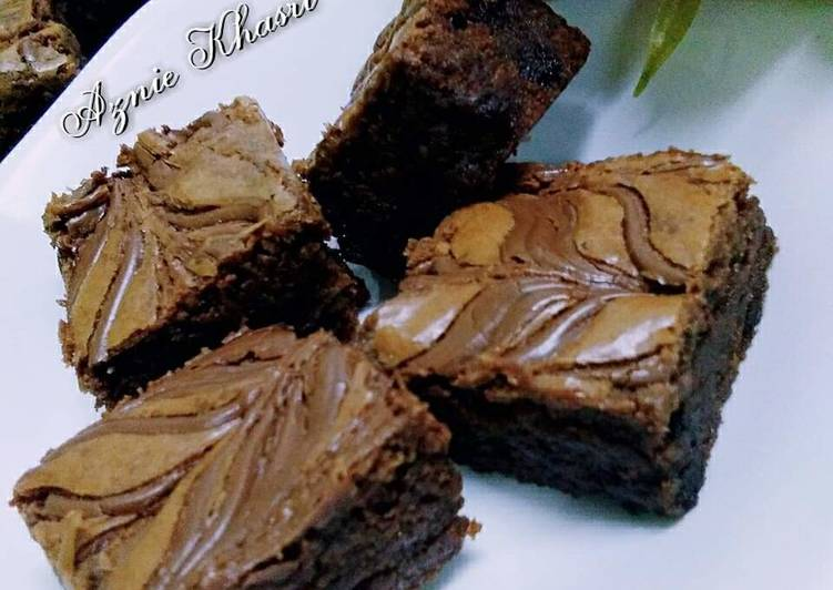 ♡♡NUTELLA BROWNIES♡♡ #SyedMunawwar