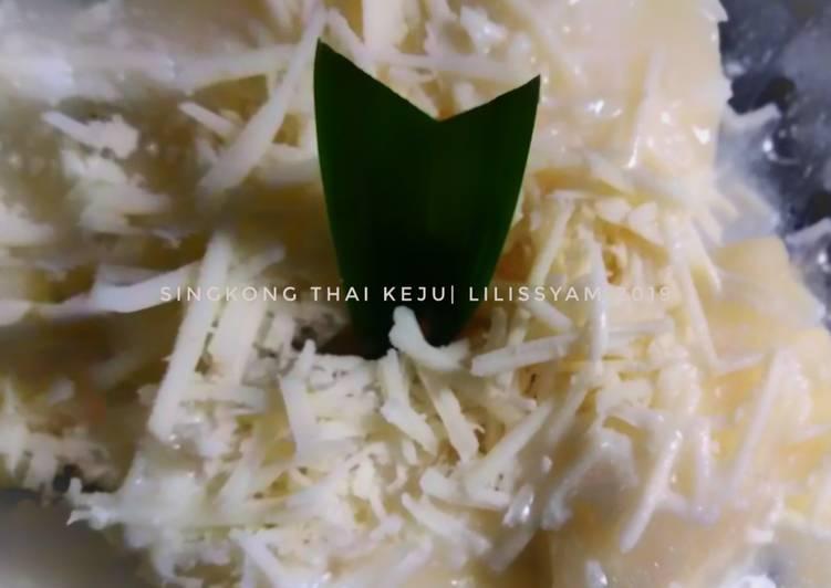 Singkong Thai Keju - cookandrecipe.com