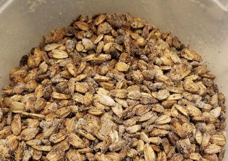 Baked Ranch Sunflower Seeds