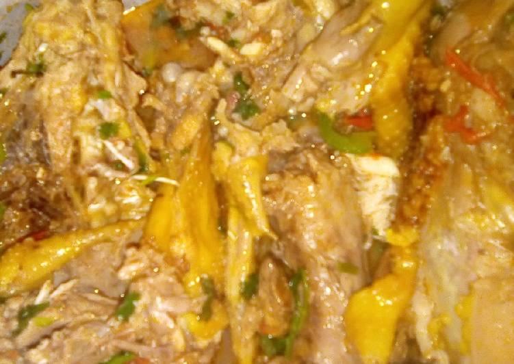 Kienyeji Chicken Stew