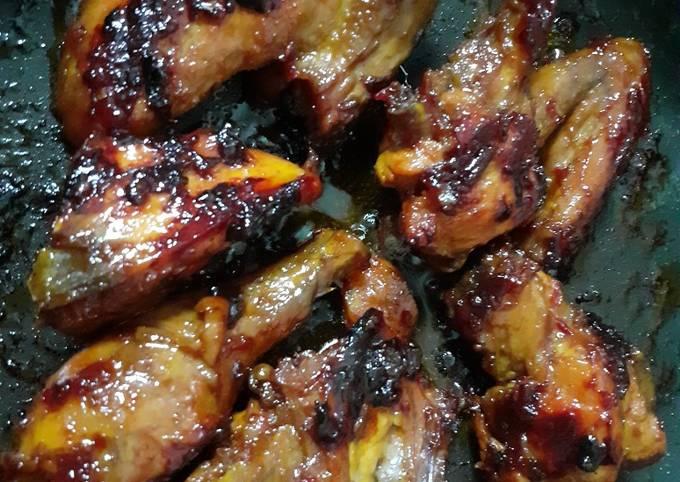 Ayam bakar teflon simpel