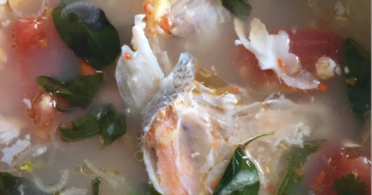 Resep Kuah Asam Pedas Kepala Salmon Oleh Chel S Meals Cookpad