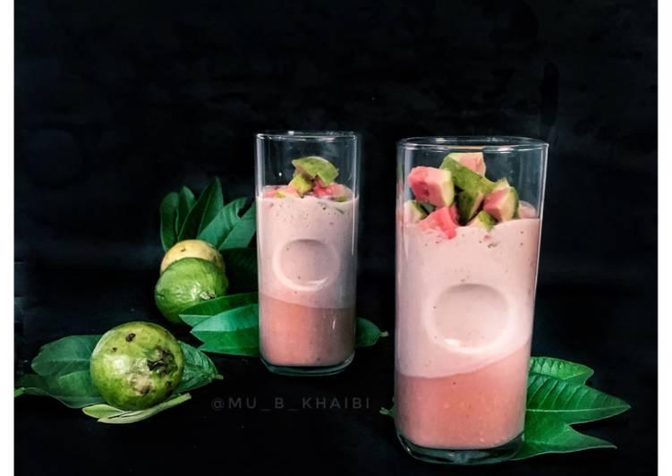 Recipe of Favorite Guava milkshake