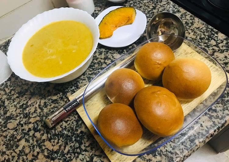 Pumpkin soup 🤤