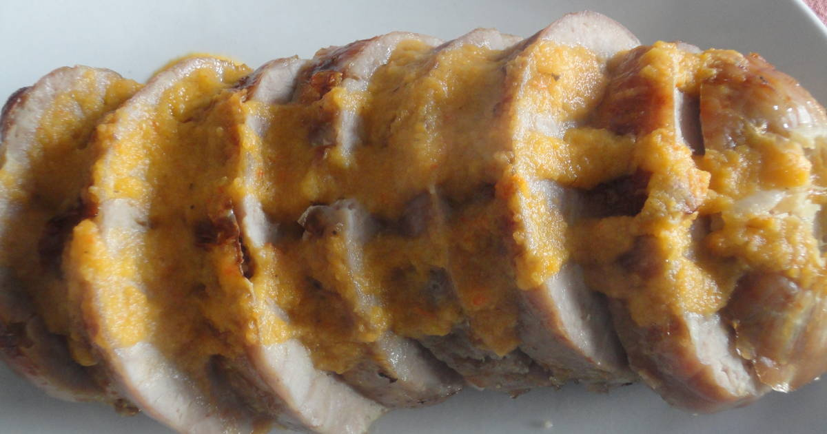 Roti De Pavo Al Horno Con Salsa De Verduras Receta De Carmem Cookpad