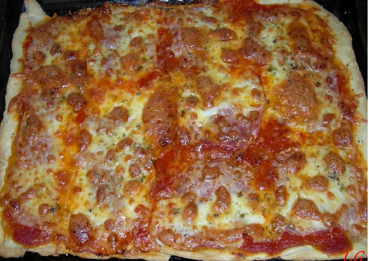 Masa De Pizza Casera Y Fácil Receta De Lauradaluzgrumberg Cookpad