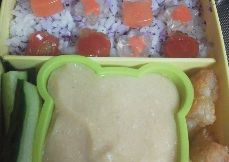 Pudin/gelatina dulce o salada de garbanzos apta celiacos y alergicos.