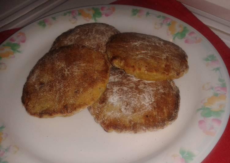 Tortitas De Plátano Y Queso Receta De Avilia31 Cookpad