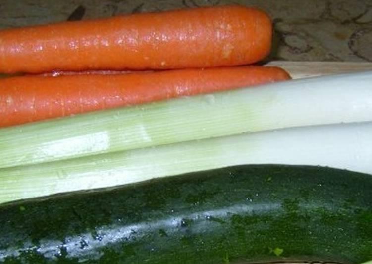 Sopa fría de zanahorias