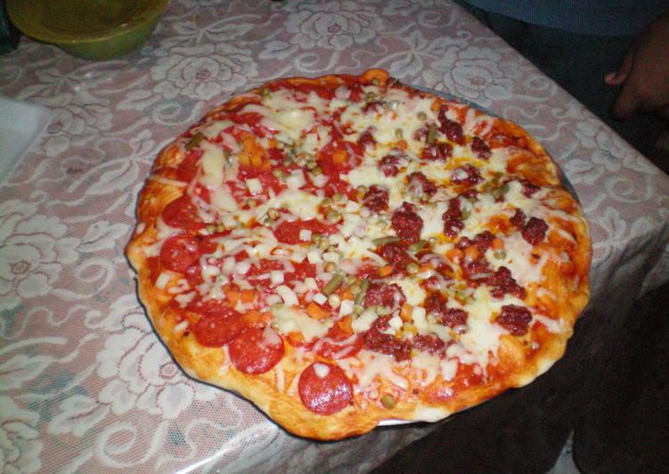 Masa básica para pizza paso a paso