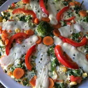 "Tarta de verduras ""all inclusive"""