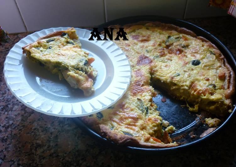 receta tarta de zapallitos de tronco