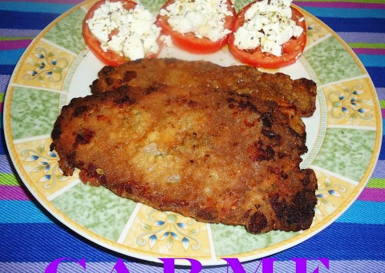 receta escalope de ternera a la milanesa